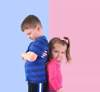 Breaking the stereotype - Bold Blue Boys vs Peppy Pink Girls